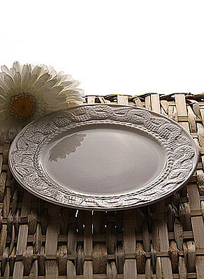 Belleek Galway Weave Cable Accent Plate Set of 4