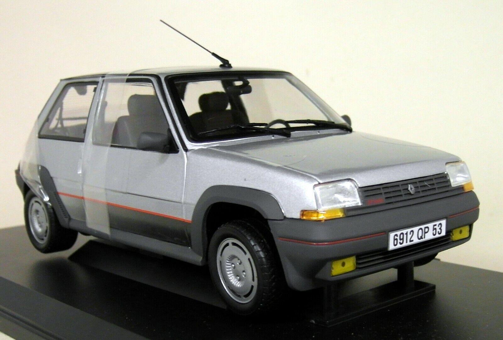 Norev 1 18 Scale - Renault Super Cinq GT Turbo Phase 1 1985 diecast Model Car