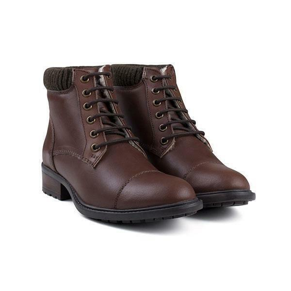 Womens Redfoot Brown Waxy Leather Work boot - UK6 - BNIB