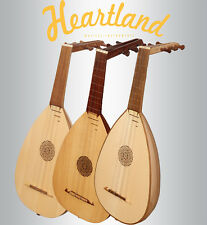 New Heartland Lute Ukulele,Lute ukulele, Ukulele Right & Left hand, Lute-Kulele