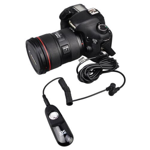 3 M Cable de extensión de control remoto para Canon 1 DXII 5DM3 M4 5Dsr 7DM2 como ET-1000N3