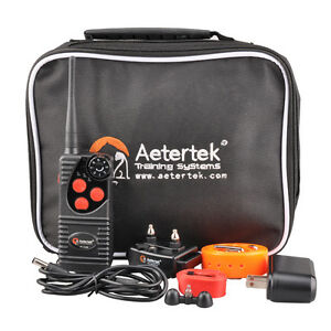 Remote-Dog-Training-Shock-Collar-Bark-Trainer-E-Collar-Rechargeable-Waterproof