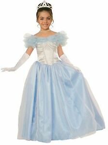 Image is loading Girls-Happily-Ever-After-Princess-Cinderella-Costume-Child-  sc 1 st  eBay & Girls Happily Ever After Princess Cinderella Costume Child Size ...