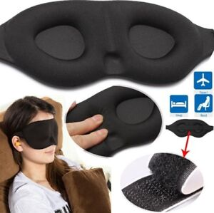 Travel Sleep Eye Mask Memory Foam Padded Cover Sleeping Blindfold Dreamed