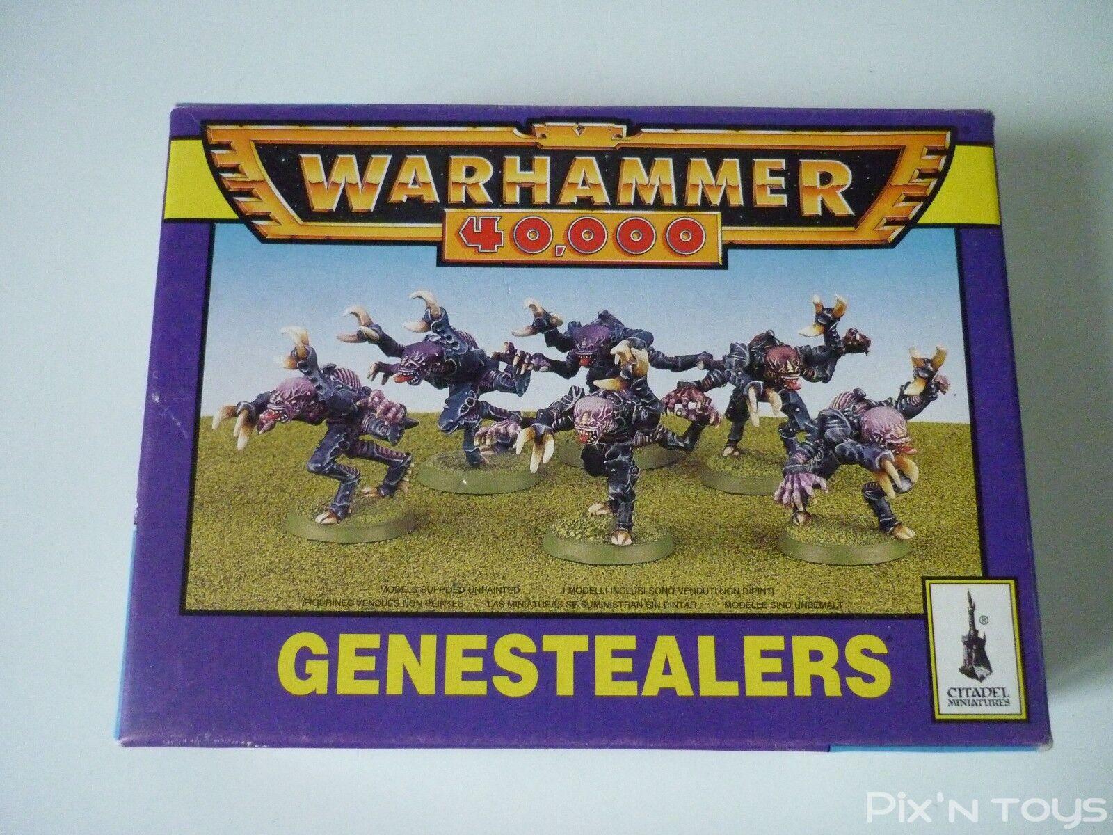 Warhammer 40.000 figur 40k boite de 6 genestealers   zitadelle, 1996