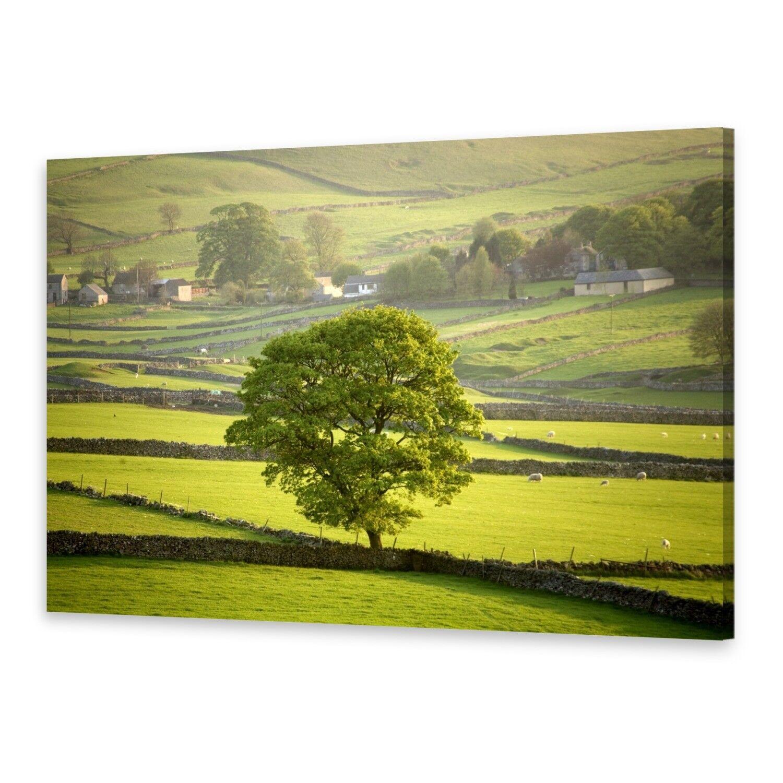 - Tela Immagini Immagine Parete stampa su canvas stampa d'arte Inghilterra Derbyshire