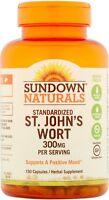 Sundown Naturals Standardized St. John's Wort Capsules 150 Ea on sale