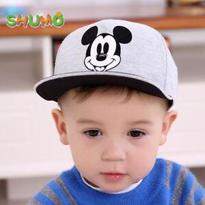 8f8b8fad723ed5 Image is loading Mickey-Mouse-Baby-Sun-Hat-Cartoon-Children-Baseball-