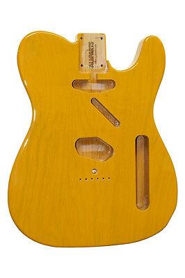 NEW Fender Lic Butterscotch Blonde Telecaster BODY Tele Guitar Parts TBF-BS