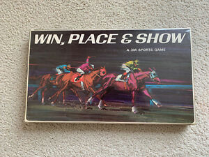 Horse racing betting win place show sports betting legal california reddit