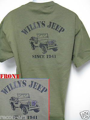 T-Shirt Wunschtext Militär Army Training Bundeswehr Style Willys Jeep Bw Navy