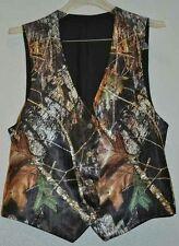 NEW Mossy Oak Camo Tuxedo Vests Men Camo Vests