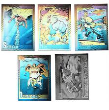 Marvel Universe 2 1991 Impel Set of 5 Hologram Chase Cards H1-H5 INSERT SET
