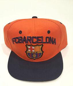 4ecacfc789c Image is loading fc-barcelona-football-Adjustable-Cap-Offically-Licensed-FCB -