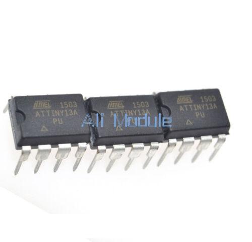 20Pcs New ATTINY13A-10PU ATTINY13 ATTINY13V Microcontroller IC