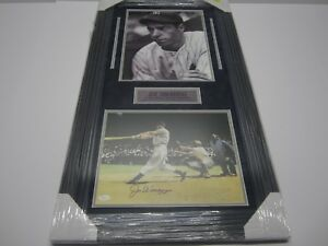 Joe-DiMaggio-NY-Yankees-Signed-Autographed-Matted-amp-Framed-Photo-11x14-JSA-CoA