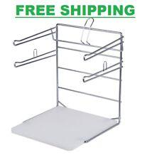 Chrome T Shirt Shopping Bag Rack Stand Store Holder Dispenser Grocery Bagging