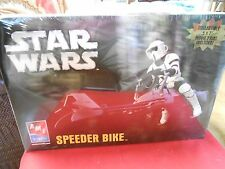 "NEW-Never Opened- Model Kit-AMT Ertl- STAR WARS ""Speeder Bike"",..."