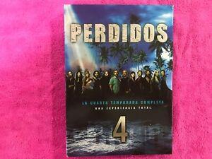 Lost Saison 4 Complète 6 DVD Région 2 + Extras Castillan Anglais Am
