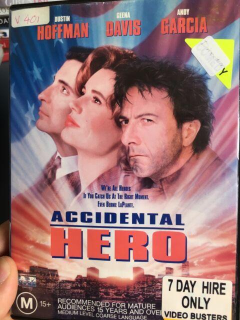 Accidental Hero ex-rental region 4 DVD (1992 Dustin Hoffman movie)