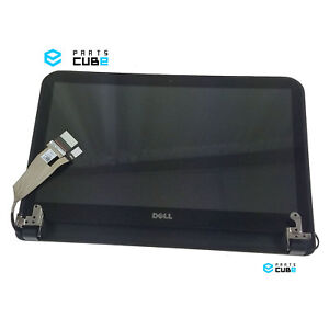 NEW-DELL-Inspiron-14R-5437-5421-Complete-Touch-LCD-Screen-Assembly-w-Hinges