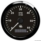 Osculati 27.325.04 - Contagiri 0-8000 RPM Nero/nera