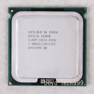 Intel Xeon E5450 Quad-Core 3.0GBz 12MB 1333Mhz SLBBM LGA771 CPU Processor