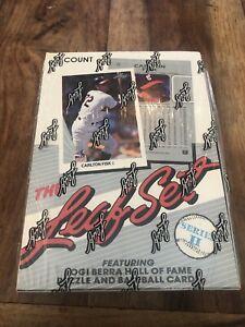 1990 LEAF BASEBALL SERIES 2 sealed box FRANK THOMAS RC Sammy Sosa Griffey Jr