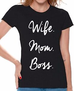 Wife-Mom-Boss-Shirt-Mom-life-T-shirt-Gifts-for-Mom