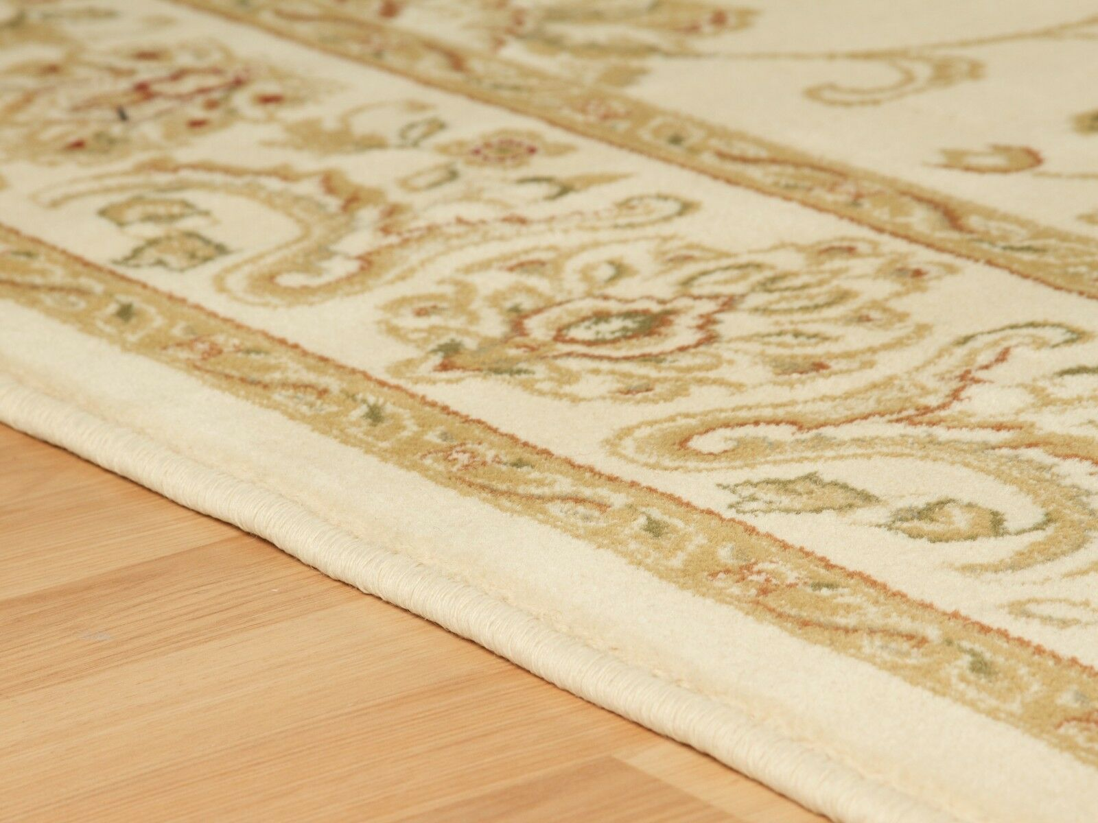 NEW LARGE - EXTRA EXTRA EXTRA XL LARGE BEIGE CREAM SOFT CLASSIC TRADITIONAL AREA RUG 23b5e7