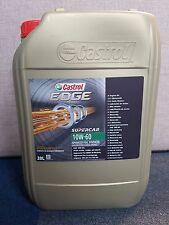 Castrol Edge 10w/60 Supercar 20ltr Engine Oil Boosted with Titanium FST