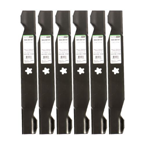SureFit Hi-Lift Blade for Husqvarna 532137380 AYP Poulan 137380 156468 GT200 6PK