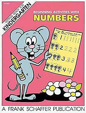 Beginning Activities with Numbers Paperback Frank Schaffer