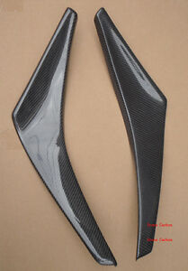 For-NISSAN-350Z-Z33-NI-Style-Carbon-Fiber-Canards-For-Nismo-Front-Bumper