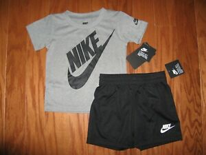 6b4d97006c Details about Nike 2 Piece T-Shirt & Shorts Outfit Set Boys 12M/ 18M/24M NWT