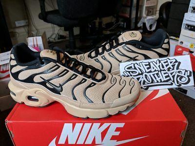 Nike Air Max Plus TN Tuned 1 GS Desert Ridgerock Tan Beige Black 655020 201   eBay