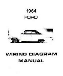 details about 1964 ford galaxie custom 300 500 country squire wiring diagrams manual nice new 1932 ford wiring diagram wiring diagram 1964 ford ranch wagon #11