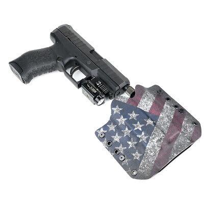 3/% Flag Walther OWB Kydex Gun Holsters