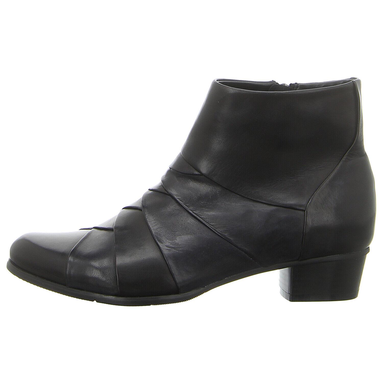 Regarde le Ciel Schuhe Stiefelette Stefany-172-118  schwarz piombo navy (schwarz)
