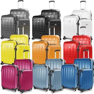 Kofferset Reisekoffer Hartschalenkoffer ABS Trolley Reisetasche Gepäckkoffer