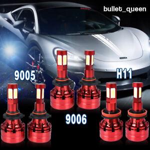 Image Is Loading 9005 9006 H11 Led Headlight Fog Light Combo