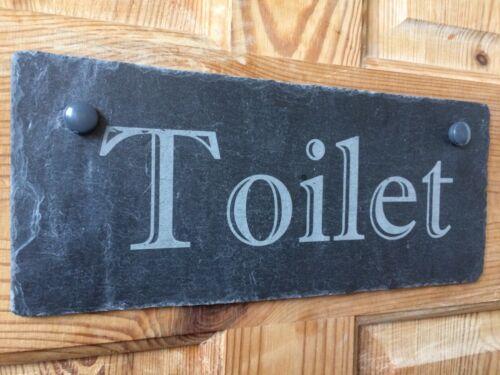 ladies Room bathroom toilet bedroom Door Name Plaque Slate Any Text
