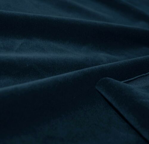 Mf66a Middle Blue Smooth Silky Soft Velvet Cushion Cover//Pillow Case Custom Size