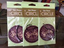 """Lot 3 Scentsy Scent Circle Air Fresheners """"Spice Bazaar"""" Car Home Anywhere!"""