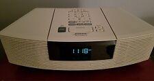 BOSE Wave Radio Cd Player Music System AWRC-1P White