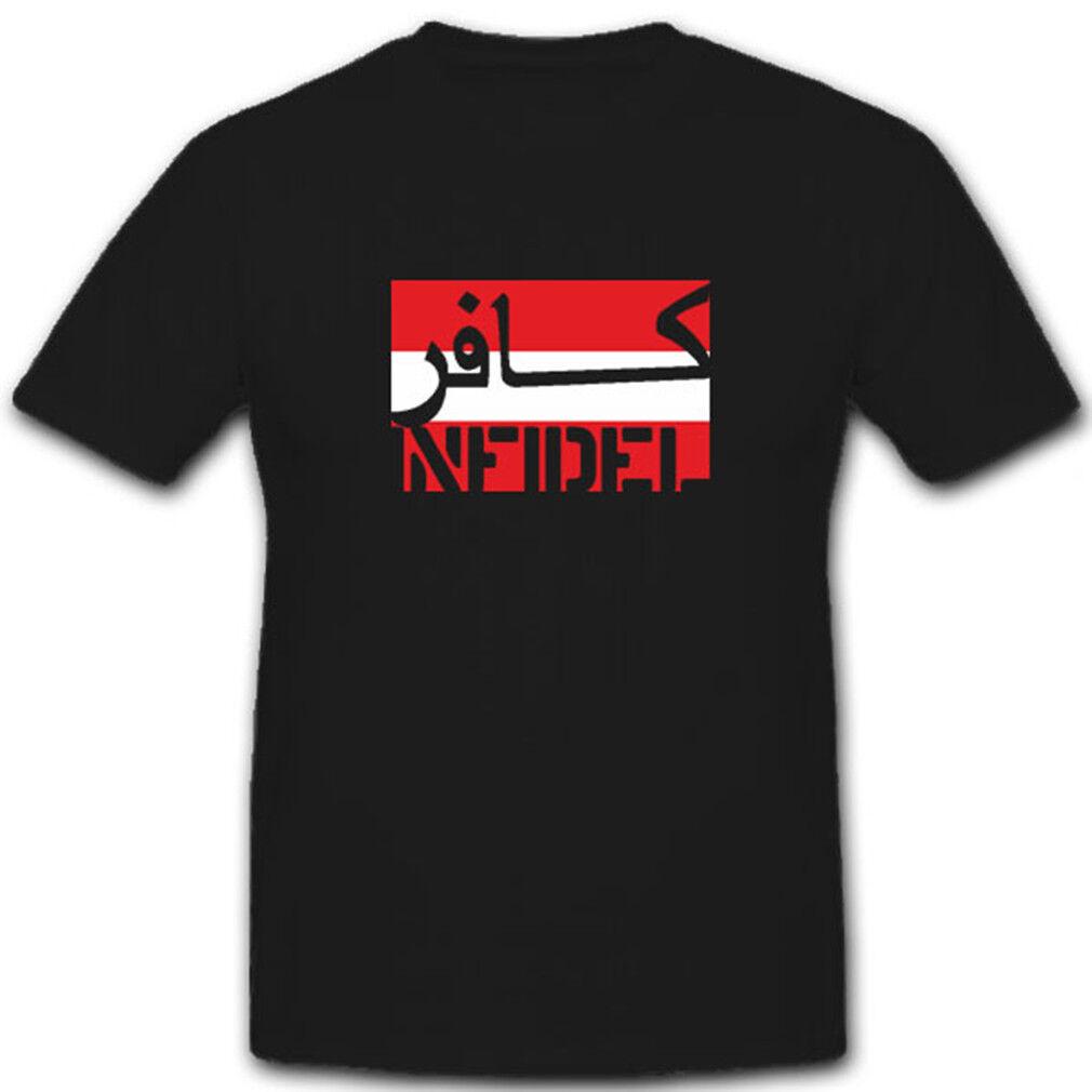 Österreich Bundesheer Infidel ungläubiger ISAF Anti Terror - T Shirt  7596  | New Style  | Hohe Sicherheit  | ein guter Ruf in der Welt