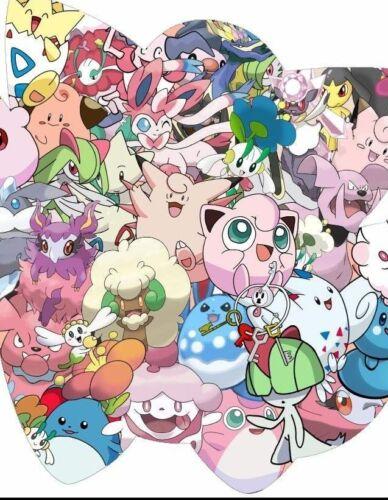 REV HOLO GUARANTEED NEW JOBLOT Pokemon Card Bundles 20 Fairy Types RARE