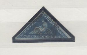 Cape-Of-Good-Hope-1863-4d-Blue-Triangle-SG19-Fine-Used-J2723