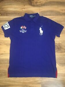 f0b195d2 Polo Ralph Lauren ITALY Track And Field World Championships 1934 XL ...