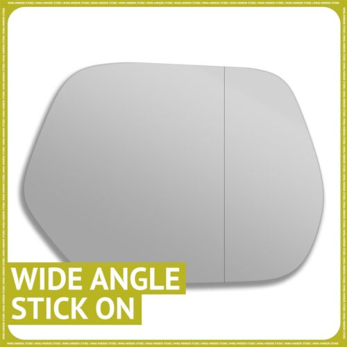 Right hand Driver side for Honda CR-V 07-18 wing mirror glass Wide Angle